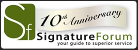 Signature Forum 10th Anniversary